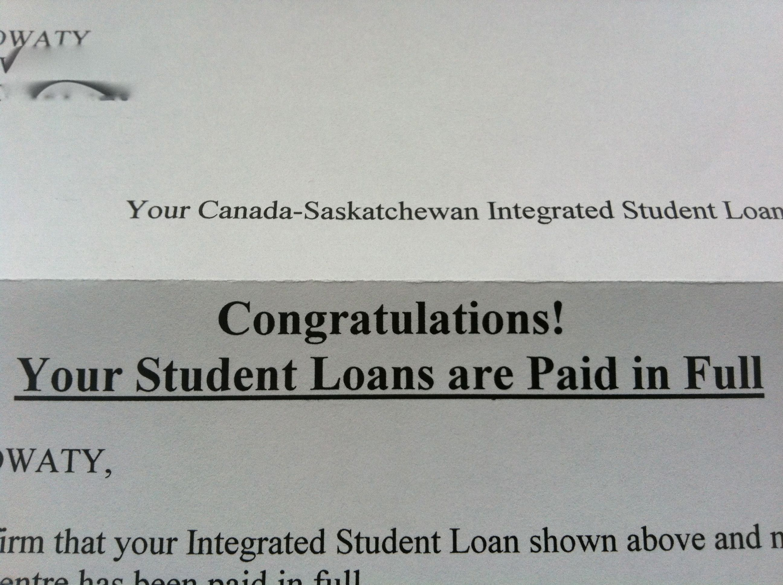 paying student loans