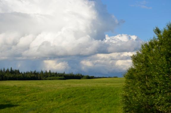 Near Elmhurst Road, back home in Saskatchewan