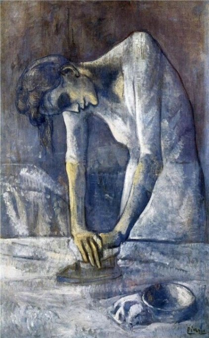 "Picasso's ""Woman Ironing"""
