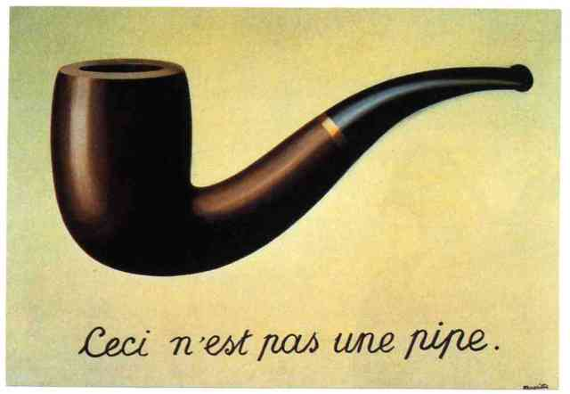 Nope. Not a pipe. Just an image of one.