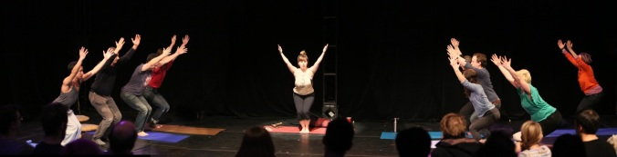 Emilia Symington Fedy, performer Photo: Tim Matheson