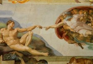 La-Creazione-dellUomo-di-Michelangelo-Cappella-Sistina