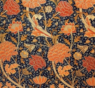 William Morris textile print