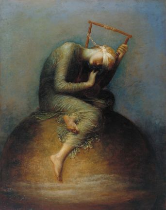 """Hope"", an allegorical painting by George Frederic Watts"